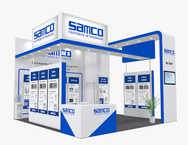 Samco Booth SEMICON China 2021.png